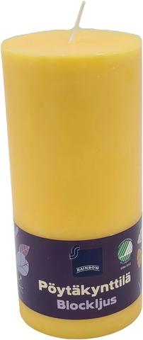 Rainbow Pöytäkynttilä Vihreä 70X150mm