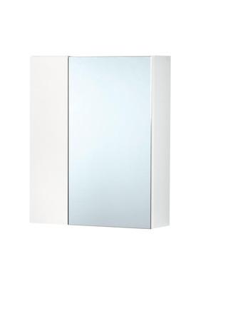 A-Collection Peilikaappi Kahdella Ovella Valkoinen