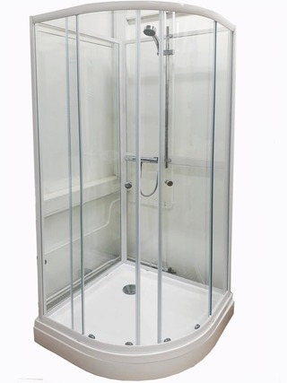 Suihkukaappi 80X80cm, Korkeus 205Cm (+4,5Cm Suihkutanko)
