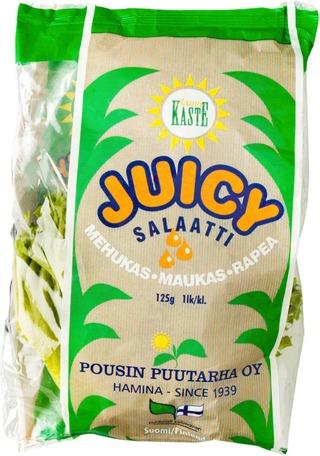 Pousin Puutarha Juicy Salaatti 125G
