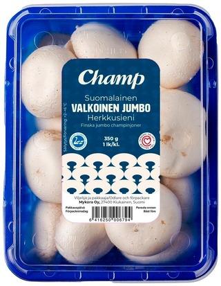 Champ Valkoisia Jumbo Herkkusieniä 350G
