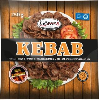 Görans Kebablastu 250G Irtopakastettu