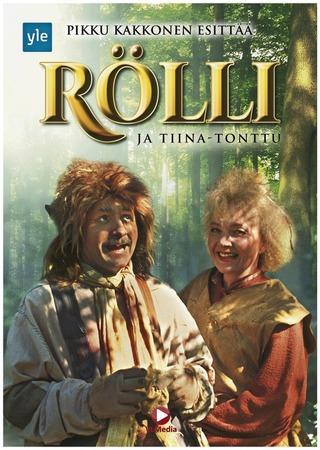 Rölli Ja Tiina-Tonttu Dvd