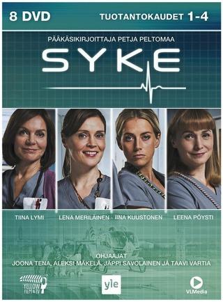 Syke 1-4 Tuotantokaudet Dvd