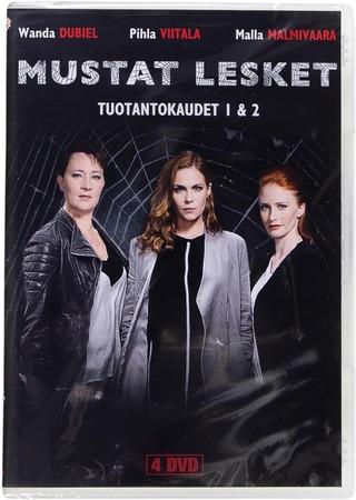 Mustat Lesket - Täydellinen Kokoelma Dvd4 Tuotantokaudet 1 & 2