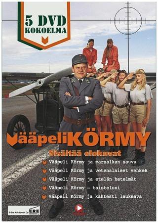 Vääpeli Körmy Box 5Dvd