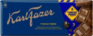 Karl Fazer Tyrkisk Peber Maitosuklaalevy 200G