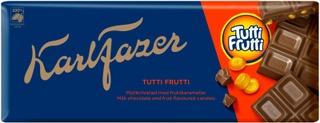 Karl Fazer Tutti Frutti suklaalevy 200g