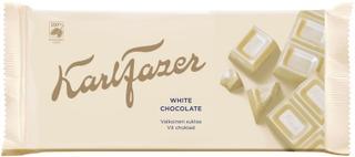 Karl Fazer Valkosuklaalevy 131 G