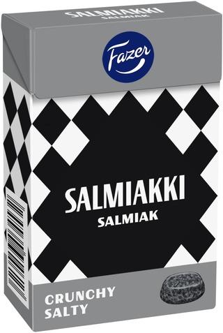 Fazer Salmiakki Crunchy Salty Lakritsirae 70G