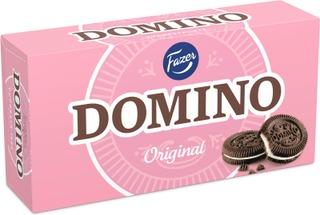 Domino Original 350G 26Kpl Kaakaokeksejä, Joissa Vaniljanmakuista Täytettä (28%), Täytekeksi