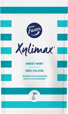 Fazer Xylimax Sweet Mint Mintunmakuinen Täysksylitolipurukumi 80G
