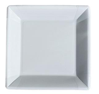 Mini-Maid Valkoinen Pahvilautanen 23X23cm