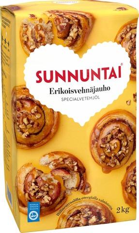 Sunnuntai 2Kg Erikois Vehnäjauho