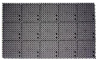 Plast-Turf Palaruohomatto 43X71cm Musta