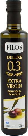Filos 500ml deluxe 0.3 ekstra-neitsytoliiviöljy
