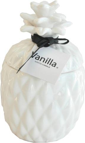 Ananas Tuoksukynttilä 9X9x15 Cm Vanilja