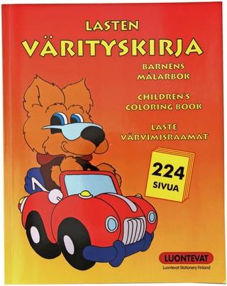 Luontevat Lasten Värityskirja 224 Sivua