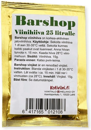 Barshop Viinihiiva 15 g