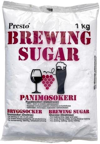 Presto Panimosokeri 1 Kg Viinin Ja Oluen Valmistukseen