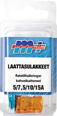 Motoral M+ Laattasulakelajitelma 5/7,5/10/15A