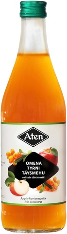 Aten Omena-Tyrnitäysmehu 0,5L