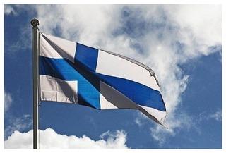 Flagmore Suomen Lippu No 12, Neuloslippu 200X327cm