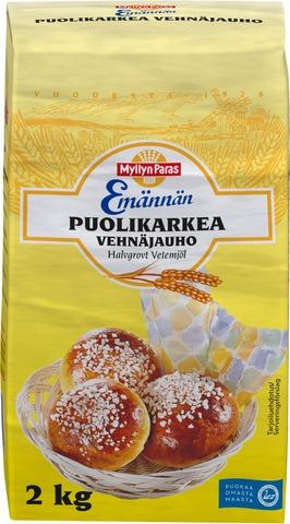 Myllyn Paras Emännän Puolikarkea Vehnäjauho 2Kg