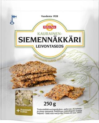 Myllyn Paras Kaurainen-Siemennäkkäri Leivontaseos 250G