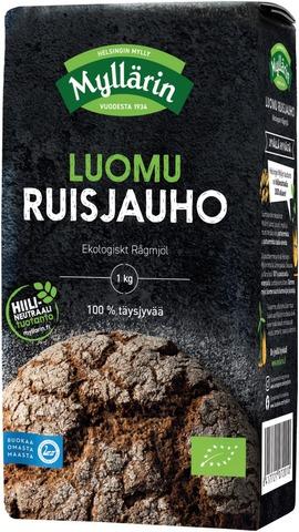 Myllärin 1Kg Luomu Ruisjauho