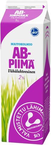 Maitokolmio Vähälaktoosinen Ab-Piimä 1L