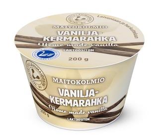 Maitokolmio laktoositon vaniljakermarahka 200g