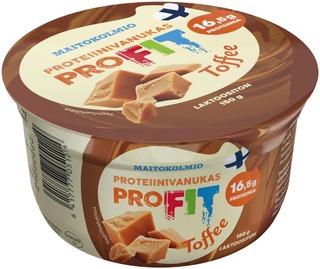 Maitokolmio Profit Laktoositon Toffee Proteiinivanukas 150G