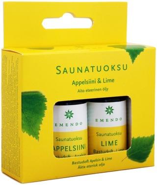 Emendo 2X10ml Saunatuoksut Appelsiini Ja Lime