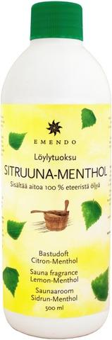 Emendo 500 Ml Löylytuoksu Sitruuna-Menthol