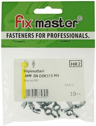 Fix Master Siipimutteri M4 Sinkitty 10Kpl