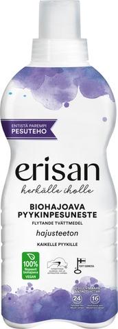 Erisan Hajusteeton Biohajoava Pyykinpesuneste 850ml