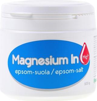 Magnesium In Epsom-Suola 500G