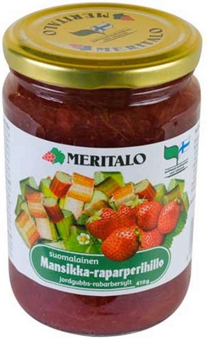 Meritalo Mansikka-Raparperihillo 410G