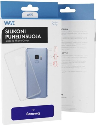 Wave Silikonisuoja Samsung Galaxy A70 Kirkas