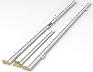 Swedoor Puukarmi 602 92Mm 7X20 Symm Maalattu Valkoinen 65Ks