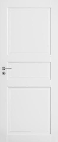 Swedoor Craft 101/3P 8X21 Symm Maalattu Valkoinen Massiivipeiliovi