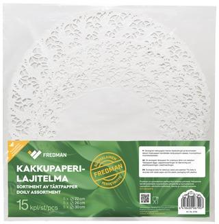 Fredman Kakkupaperilajitelma Pyöreä 15Kpl