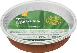 Fredman Piirasvuoka Kartonkia Ø18cm 3Kpl