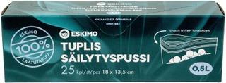 Eskimo Tuplis Pakastuspussi 0,5L 25Kpl