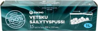 Eskimo Vetsku Säilytyspussi 1L 15Kpl