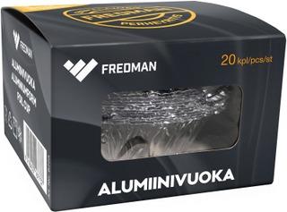 Fredman Alumiinivuoka 20Kpl