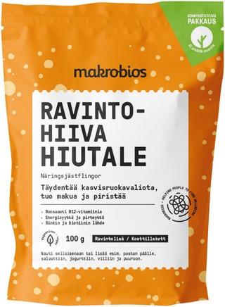 Makrobios Ravintohiivahiutale 100 Grammaa