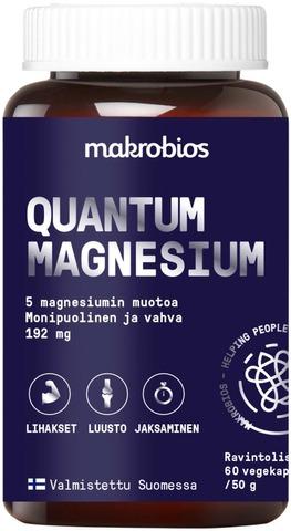 Makrobios Quantum Magnesium 60Kpl 50G