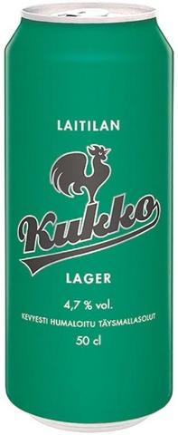 Laitilan Kukko Lager 4,7% 0,5L Olut